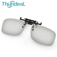 ThundeaL Re-Use 2Pcs Newest Passive 3D IMAX Glasses Frame Thicknes Framework 0.42mm Polarized Plastic Lenses for Cinema Movie