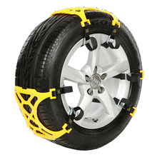 1pcs Trucks Snow Chains For Wheels Car Universal Winter Mud Tires Protection Chain Automobiles Roadway Safety Accessories Supply(China)