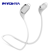 MYOHYA In ear Wireless Stereo Music Bluetooth Earphone Handsfree Headphone for Jabra/a iphone7/7S xiaomi for storm With mic
