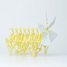 Hot Sale DIY Creature Puzzle Wind Powered Walker Walking Strandbeest Assembly Powerful Model kit Toy Children Gift Drop Shipping