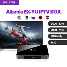 Buy Xnano 4K Movie Android 6.0 Smart TV Box Europe Arabic USA India IPTV 3500 Channels SUBTV Subscription French Turkish UK IPTV Box for $68.57 in AliExpress store