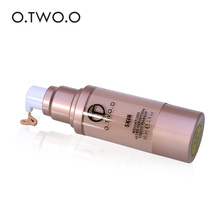 O.TWO.O Liquid Foundation Britening Waterproof Coverage Base Cosmetics Liquid Foundation Cream Makeup Primer 4Colors(China)
