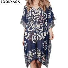 Buy Tunic Beach Dress 2018 Print Sexy Women Summer Dresses Vintage Chiffon Tunic Casual Dress Plus Size Bohemian Dresses #N396 for $12.99 in AliExpress store