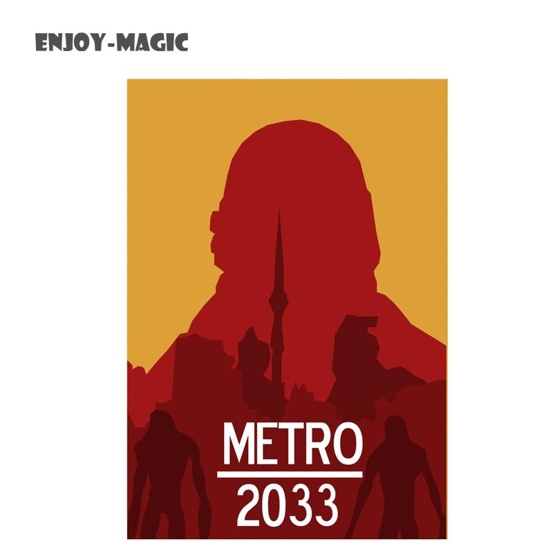 game metro 2033 canvas poster bedding no frame home decoration wall art modern 1 piece hd - Metro Frames