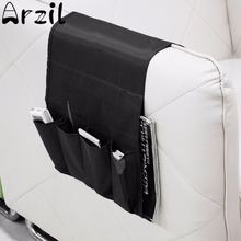 Multifunctional Polyester 4 Pockets Storage Bag Armchair Couch Sofa Bedside Remote Control Magazine Storage Holder Organizer(China)