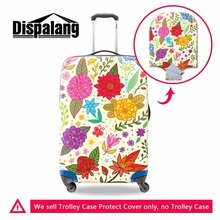 Dispalang Chinese national style pattern thick luggage protective dust cover personalized custom suitcase luggage cover for girl(China)