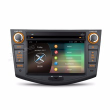 "7"" Android 6.0 OS Special Car DVD for Toyota RAV4 2006-2012 with Full RCA Output Support & External DAB+ Receiver Box Support(China)"