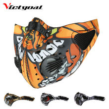 VICTGOAL Cycling Sports Mask Mouth-Muffle Dustproof Mask Mountain Road Bike Running Skiing Anti-Pollution Masks Face Cover M1046