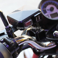 Motorbike USB Waterproof Car USB Charger Motorcycle Universal GPS Charger Mobile Phone MP3 Power Supply