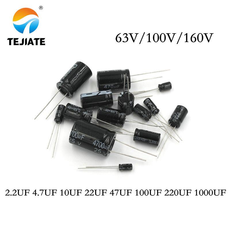 220uF 160V Radial Electrolytic Capacitor 105C