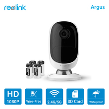 Reolink Wire-Free Battery Camera 1080P Outdoor Full HD Wireless Weatherproof Indoor Security Cam Argus