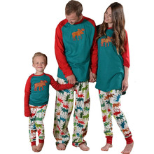 2017 Fashion Father Son Mon New Year Family Sets Family Jesus Christmas Pajamas Matching Clothes Matching Mother Daughter