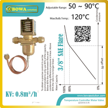 The temperature operated water valves can be used  in Steam sterilizers, steam water heater and Biomass boilers