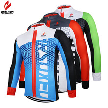 2017 ARSUXEO Men Cycling Jersey Bike Bicycle Long Sleeves  Mountaion MTB Jersey Clothing Shirts ZLJ21-Q