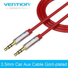Vention Aux Cable 3.5mm to 3.5 mm Jack Audio Cable Gold-plated Stereo Auxiliary Cord for Phone Car Speaker aux mp3 player