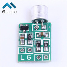 2pcs Mini Microphone Audio Amplifier Module Speaker Circuit Board DC 2.5-9V 14x12mm Mic Accessories