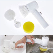 Handheld Electric Cleaning Brush for Bathroom Tile and Tub Kitchen Washing Tool electric cleaning brush for bathtub