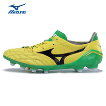 MIZUNO Men MORELIA NEO Soccer Shoes Breathable Cushioning Light Weight Sport Shoes Sneakers P1GA151345 YXZ015(China)