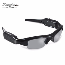 Free shipping RE104 smart HD Glasses Camera Sunglasses mini Eyewear DVR Video Recorder  PC Camera Audio