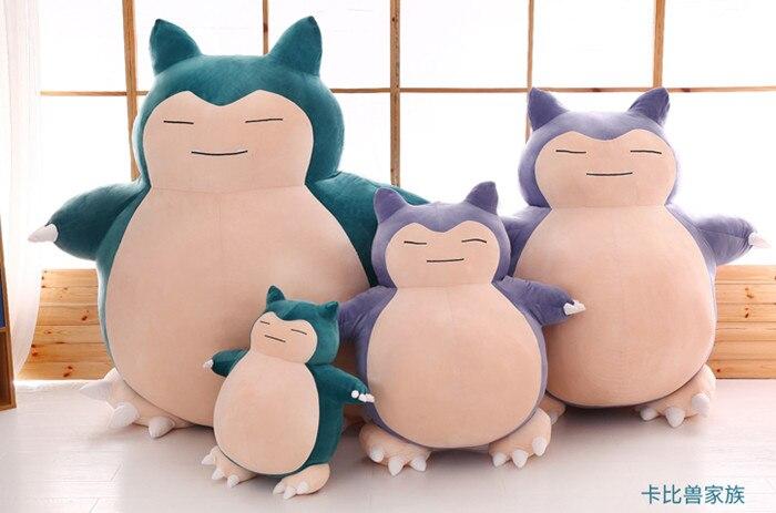 1pc 60cm pokemon doll snorlax plush toy pillow, giant snorlax pillow girlfriend birthday gift<br><br>Aliexpress