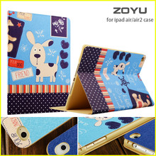 ZOYU Smart Cover For Apple iPad air 2/air 1 case hot case for iPad 5 /6 case(China)