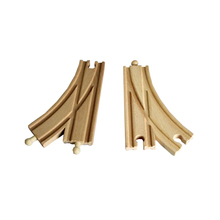 D548 Single arc bifurcation orbit Thomas the train track accessories Suitable for wood and electric Thomas train series 2PCS/LOT
