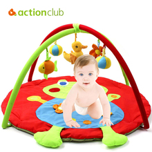 Actionclub 0-12 Months Baby Toy Baby Play Mat Game Tapete Infantil Prince Frog Educational Crawling Mat Play Gym Kids Blanket