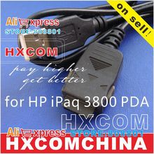 last stock available, usb data/charging cable for HP iPaq 3800 small PDA cable.(China)