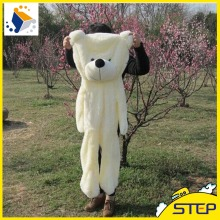 New Arrival 120cm Semi-finished Teddy Bear Skins Plush Teddy Bear Coat Free Shipping Plush Toys ST072(China)