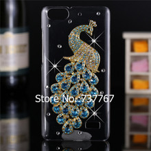 Luxury 3d case For Huawei Honor 4C ,Crystal Bling Case Rhinestone Cover For Huawei Honor 4C cover(China)