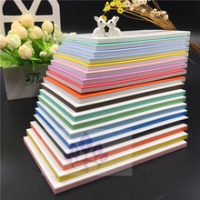21 colors 15 * 10 * 0.6cm new high rubber stamp double sandwich engraving rubber band color rubber tiles can not be ripped(China)