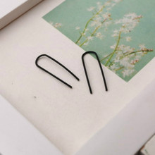 Europe United States Fashion Trend Earrings Simple Personality Female Earrings Temperament Simple Style U Earrings