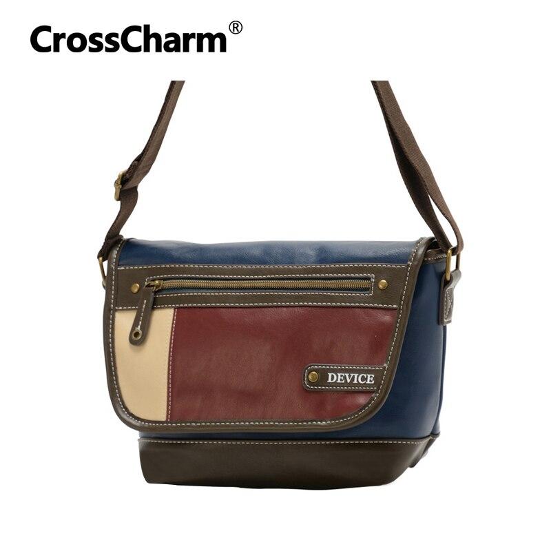 Crosscharm Handbag For Men Satchel PU Leather Male Messenger Crossbody Bag Cross Pattern Earphone Hole Shoulder Bags CC-50029<br><br>Aliexpress