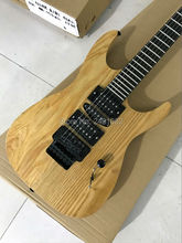 The factory manufacturing all kinds of electric guitar ebony tiger Maple neck free shipping electric guitar