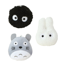 "3pcs/lot 4"" 10cm New Totoro Plush Toys Stuffed Plush TOY Phone Strap, Car Decoration, BAG Pendant, Kawaii Mini Neighbor TOTORO(China)"