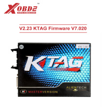V2.23 KTAG Master Version FW V7.020 ECU Programming Tool with Unlimited Token Get Free ECM TITANIUM V1.61 with 18475 Driver(China)