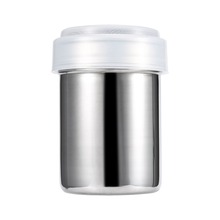 W New Arrival Stainless Steel Chocolate Shaker Cocoa Flour Icing Sugar Powder Coffee Sifter Lid Shaker Kitchen Cooking Tools