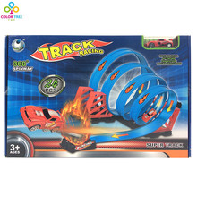Boys Rail Road Set Track Model Toy Racing Track Christmas Gift For Kids