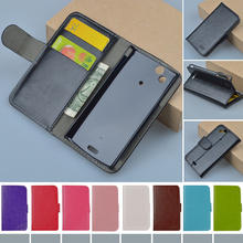 LT18i Case Luxury PU Leather Flip Cover For Sony Ericsson X12 LT15i Xperia Arc S LT18i Phone Cases JR brand with card holder