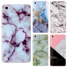 Soft TPU Phone Case For Huawei P8 Lite 2017 Case Silicone Marble Granite Stone For Funda Huawei P8 Lite Case Cover