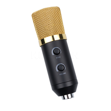 2017 Hot USB Condenser Sound Recording Microphone Wired Radio Broadcasting Microphone with Stand for Chatting Singing Karaoke