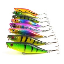 8pcs/set 7.5CM 7.5G Fishing Lure Trap Crankbait Hard Bait Fresh Water Deep Water Bass Minnow Fishing Tackle