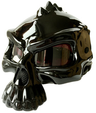 The skull motorcycle helmet, male and female, limited edition skeleton helmet, for summer wearing creative scary helmets