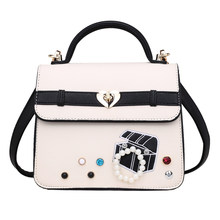 6ae0d603ffd6 SJ Women Shoulder Bags Female Messenger Bag Handbags Tote Braccialini Brand  Style Handicraft Art Cartoon Jewelry
