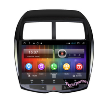 Free Shinpping Android 6.0 Quad-core RAM 1GB Car DVD Player For Mitsubishi asx With 3wifi USB GPS BT(China)