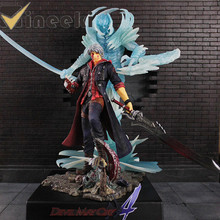 EZHOBI TOYS Devil May Cry 4 NERO Pre-painted With Luminous Collectible Figure 32cm EMS Free Shipping