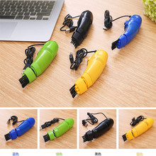 Colorful Computer Keyboard USB Vacuum Cleaner Mini Cleaner Clean Computer Laptop Brush Dust Cleaning(China)