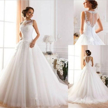New White Ivory Wedding Dress Tank Sheath Scoop Lace Bridal Gown Custom Size 2 4 6 8 10 12 14 16+ 18W 20W 22W 24W 26W 28W