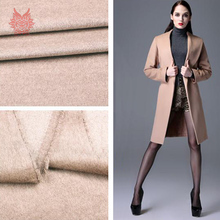 American style camel super soft high grade cashmere wool fabric for winter coat woolen tissue tela tejido SP2215 Free shipping