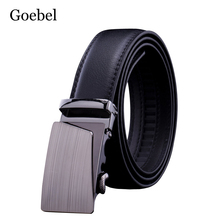 Buy Goebel Business Man Belts Fashion Alloy Automatic Buckle Male PU Leather Belts High Practical Men Black Belts for $2.99 in AliExpress store